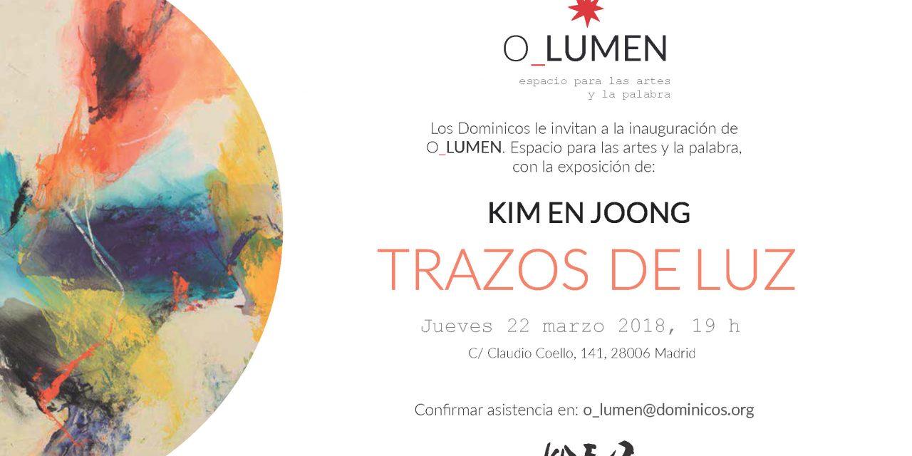 Inauguration «Centre 0 Lumen» et exposition du Père Kim En Joong, Madrid