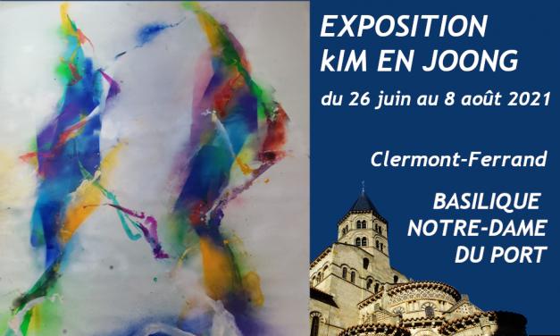 Du samedi 26 juin au dimanche 8 août 2021 à la Basilique Notre-Dame du Port, Exposition Kim En Joong – hommage au Père Sertillanges